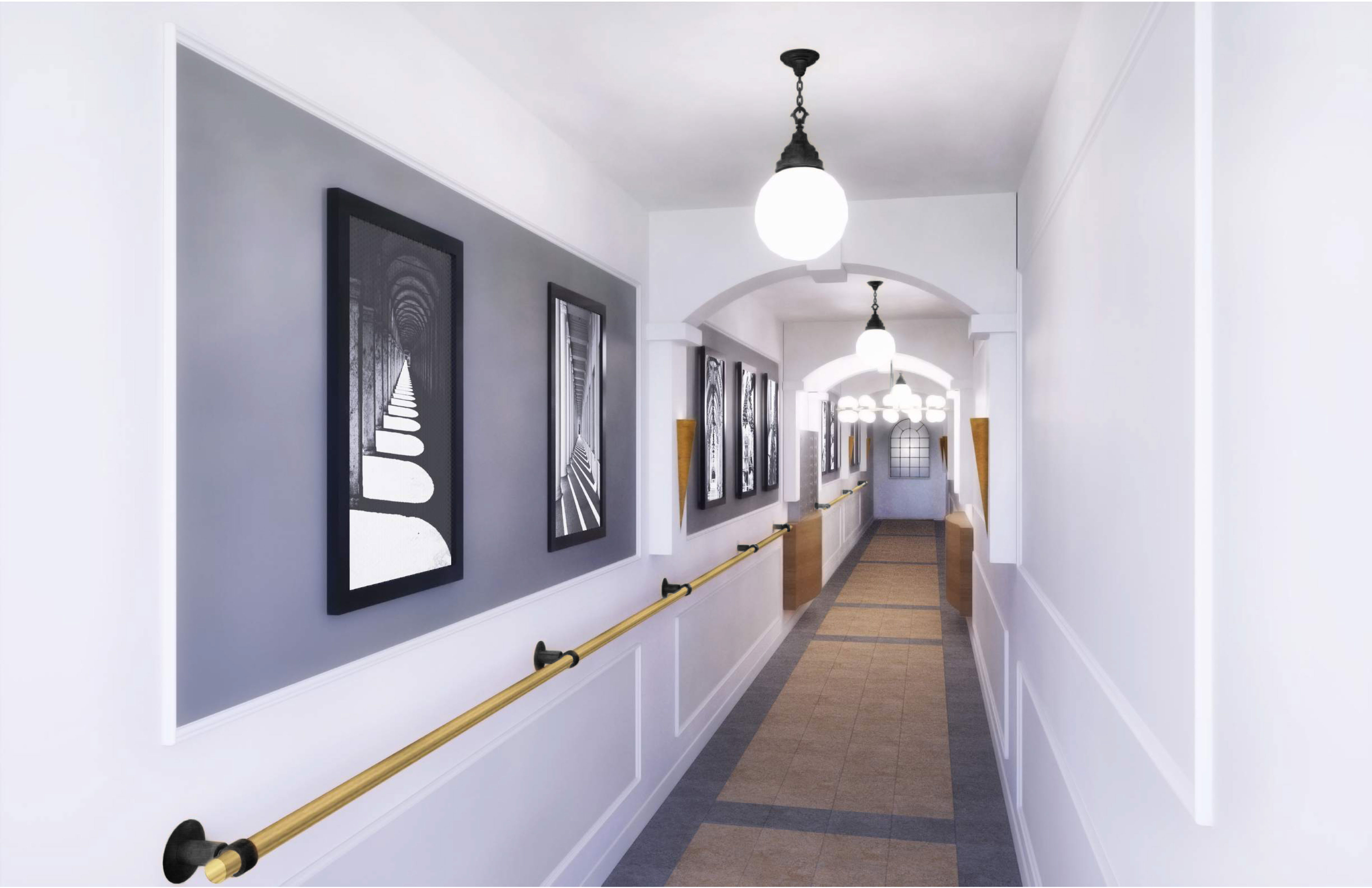 image of Fourteen and a half hallway